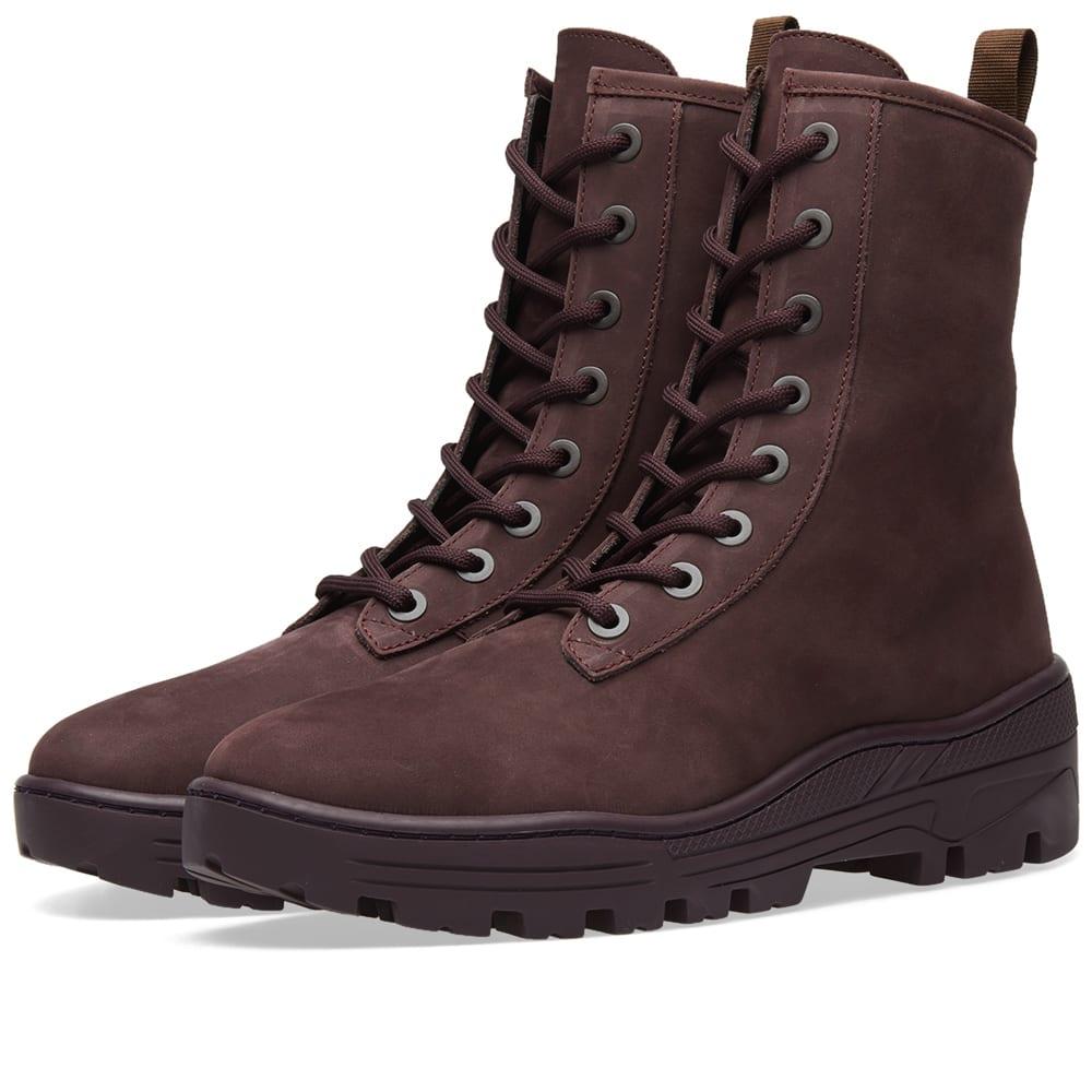 YEEZY Season 6 Boots, Brown