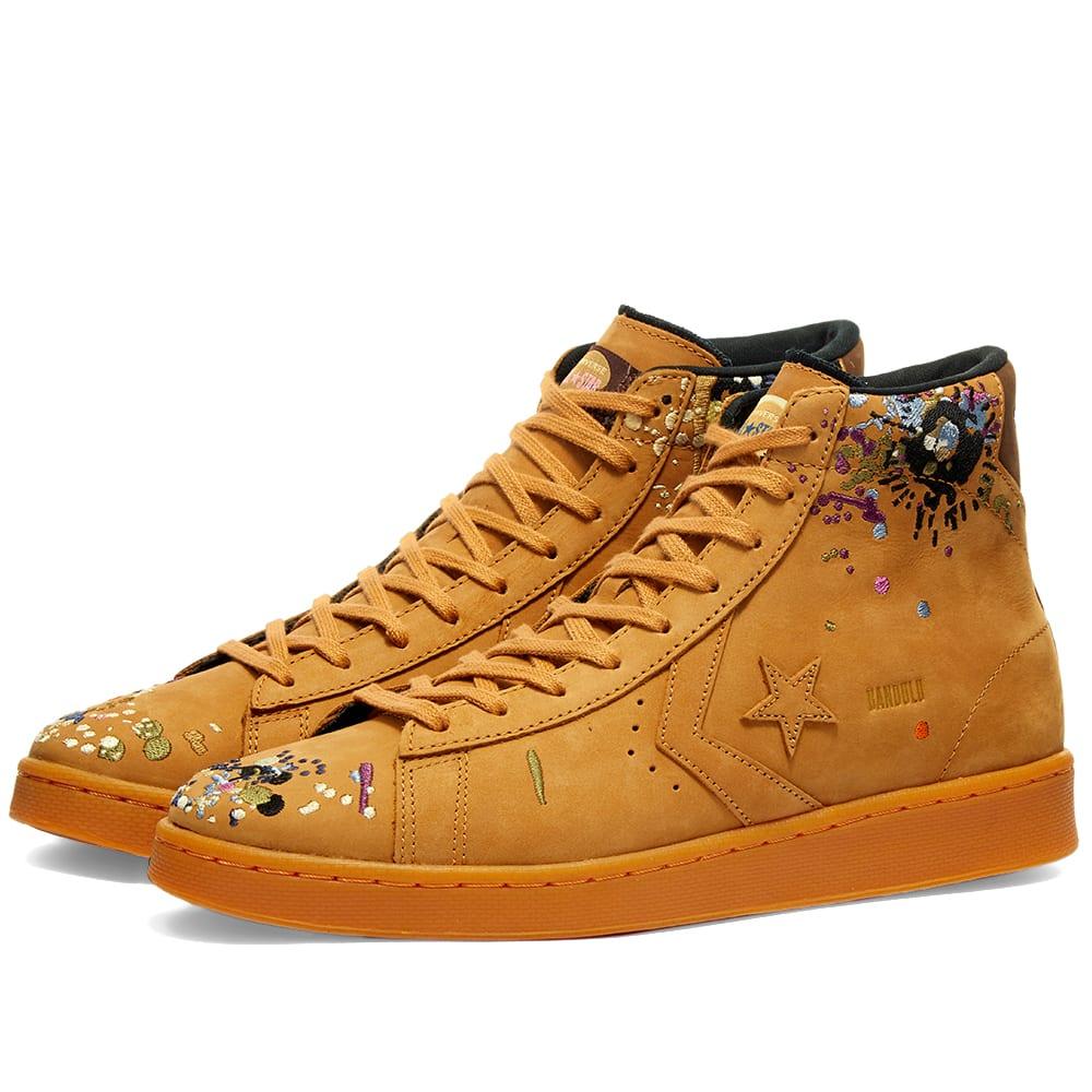 Converse x Bandulu Pro Leather Hi