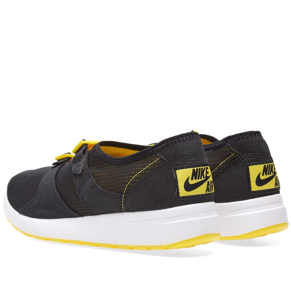5360694ec0b2 Nike Air Sock Racer OG QS Black   Tour Yellow