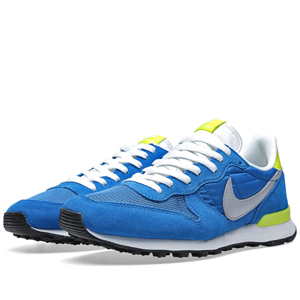 huge selection of 50af3 d50f5 Nike Internationalist. Military Blue   Silver