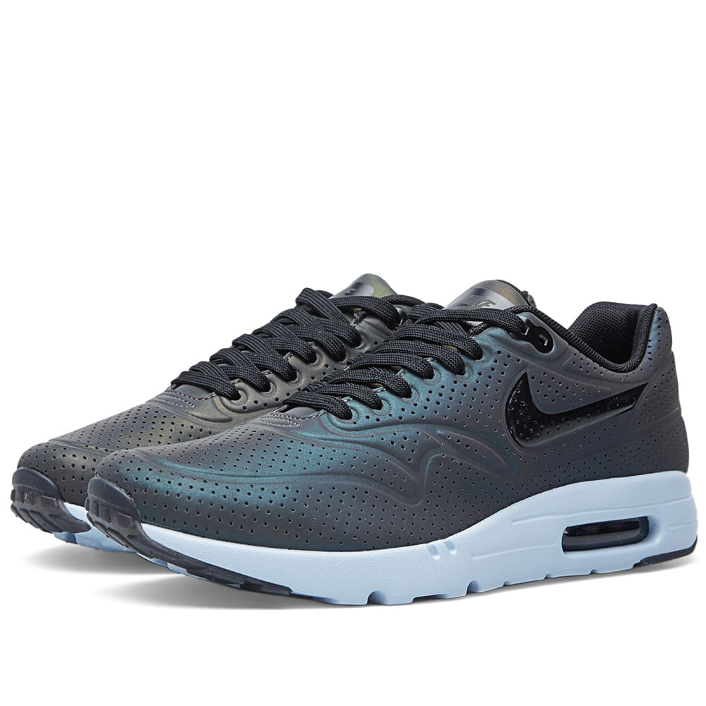 watch 1b5c8 4ac0d Nike Air Max 1 Ultra Moire  Iridescent  Deep Pewter   Black   END.