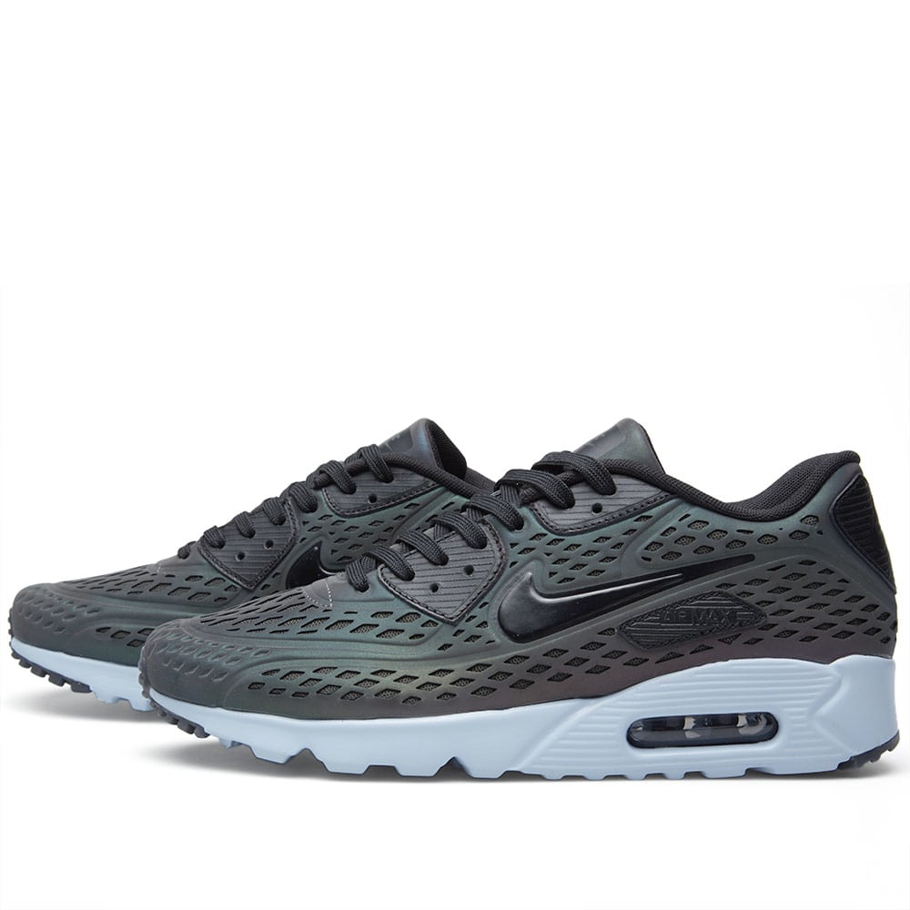 sneakers for cheap b0dd0 e0f63 Nike Air Max 90 Ultra Moire  Iridescent  Deep Pewter   Black   END.