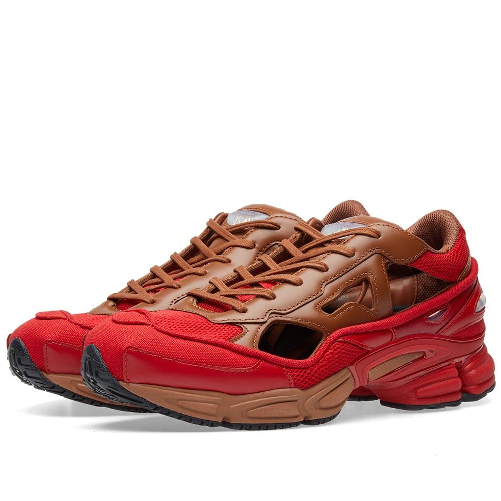 c402b0648 Adidas x Raf Simons Replicant Ozweego Scarlet Red   Dust Rust
