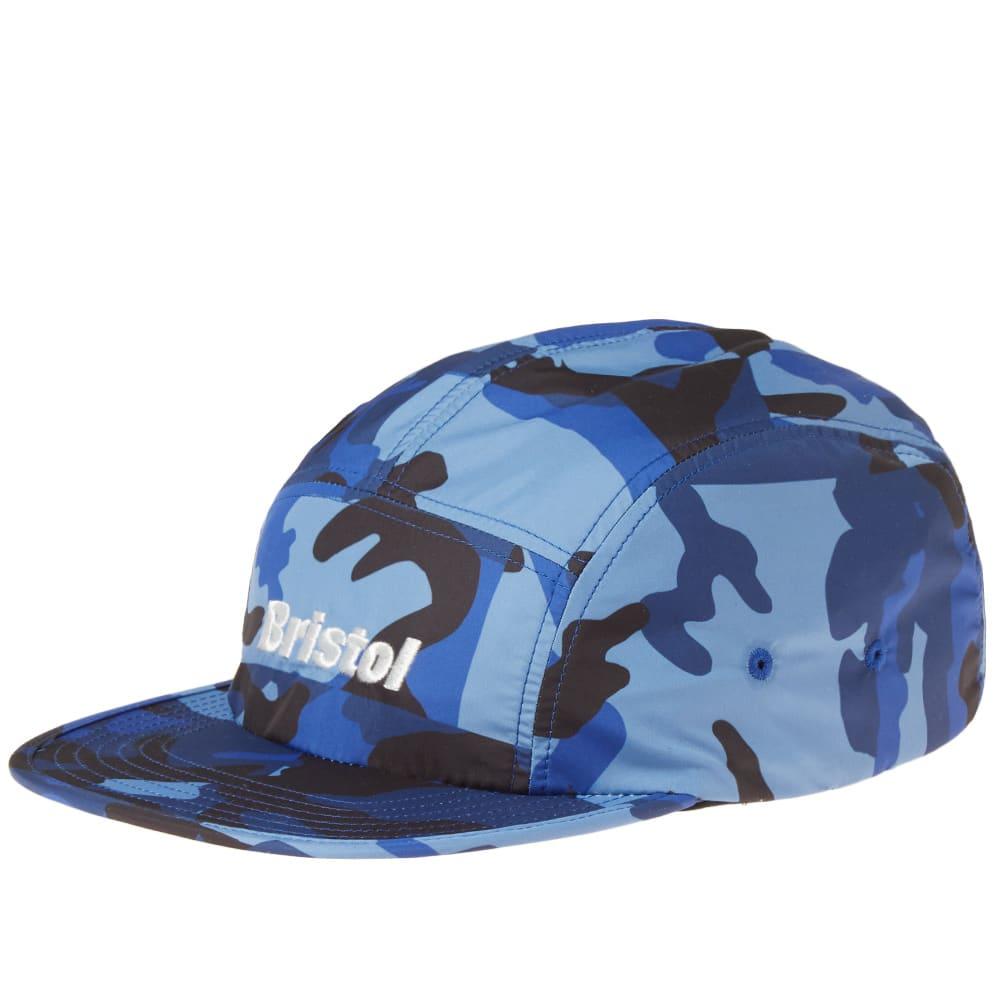 F.C. REAL BRISTOL CAMOUFLAGE 5 PANEL CAP