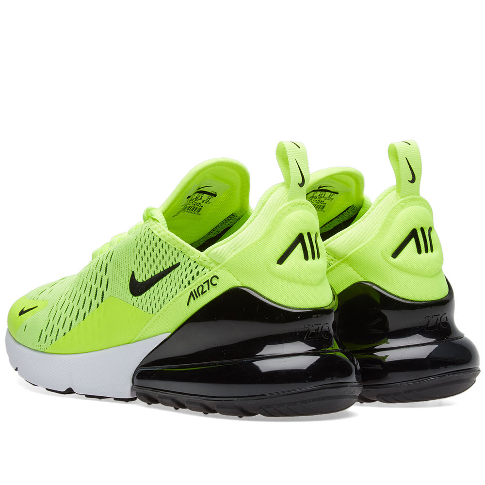 quality design b2f96 6b1ad Nike Air Max 270 Volt, Black   Dark Grey   END.