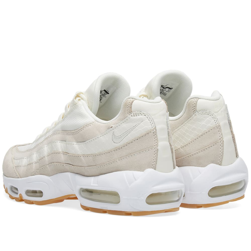 huge selection of f73a9 2810d Nike Air Max 95 Premium Sail, Desert Sand   White   END.