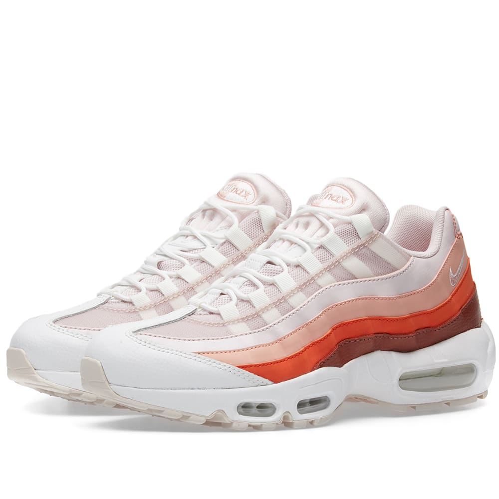 new styles 890ec 06e99 Nike Air Max 95 W Barely Rose, Stardust   Coral   END.