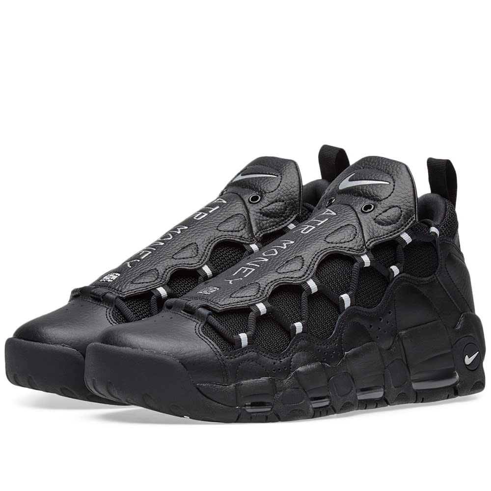 Nike Air More Money Black \u0026 Metallic