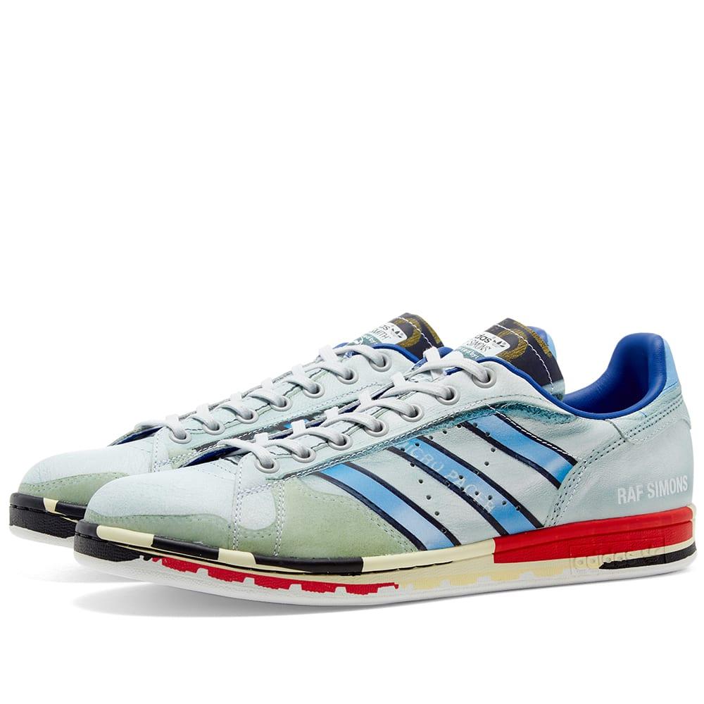 Adidas x Raf Simons Micro Stan Silver