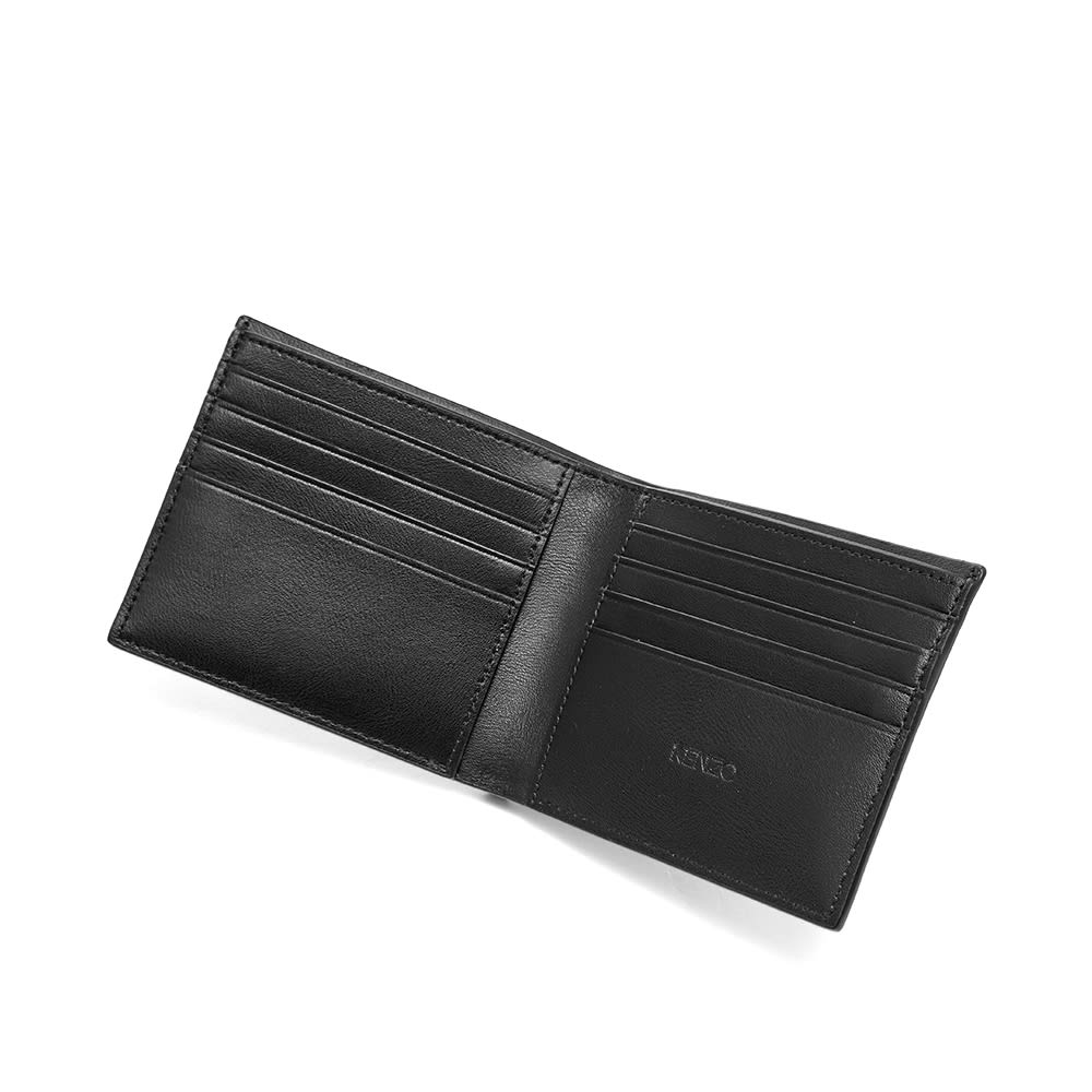 ad8424b423f Kenzo Jumping Tiger Leather Billfold Wallet