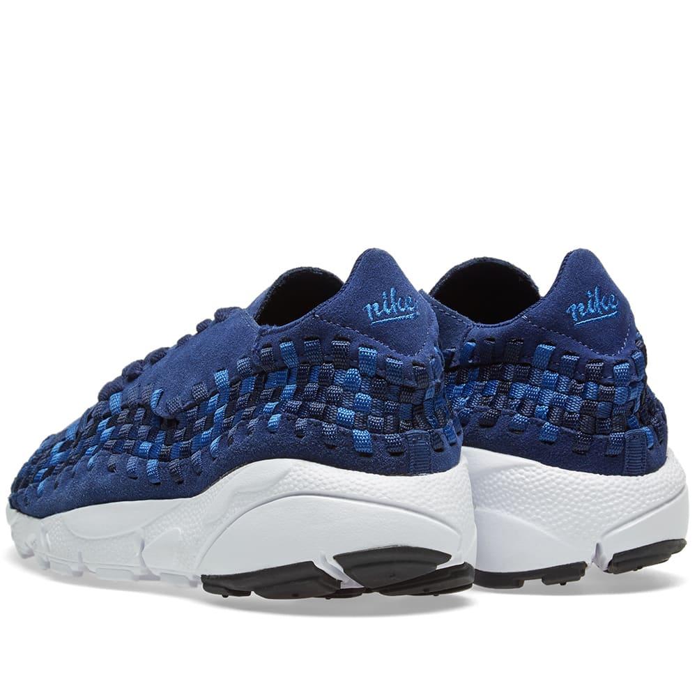 promo code e5b95 444fb Nike Air Footscape Woven NM Binary Blue   Team Royal   END.