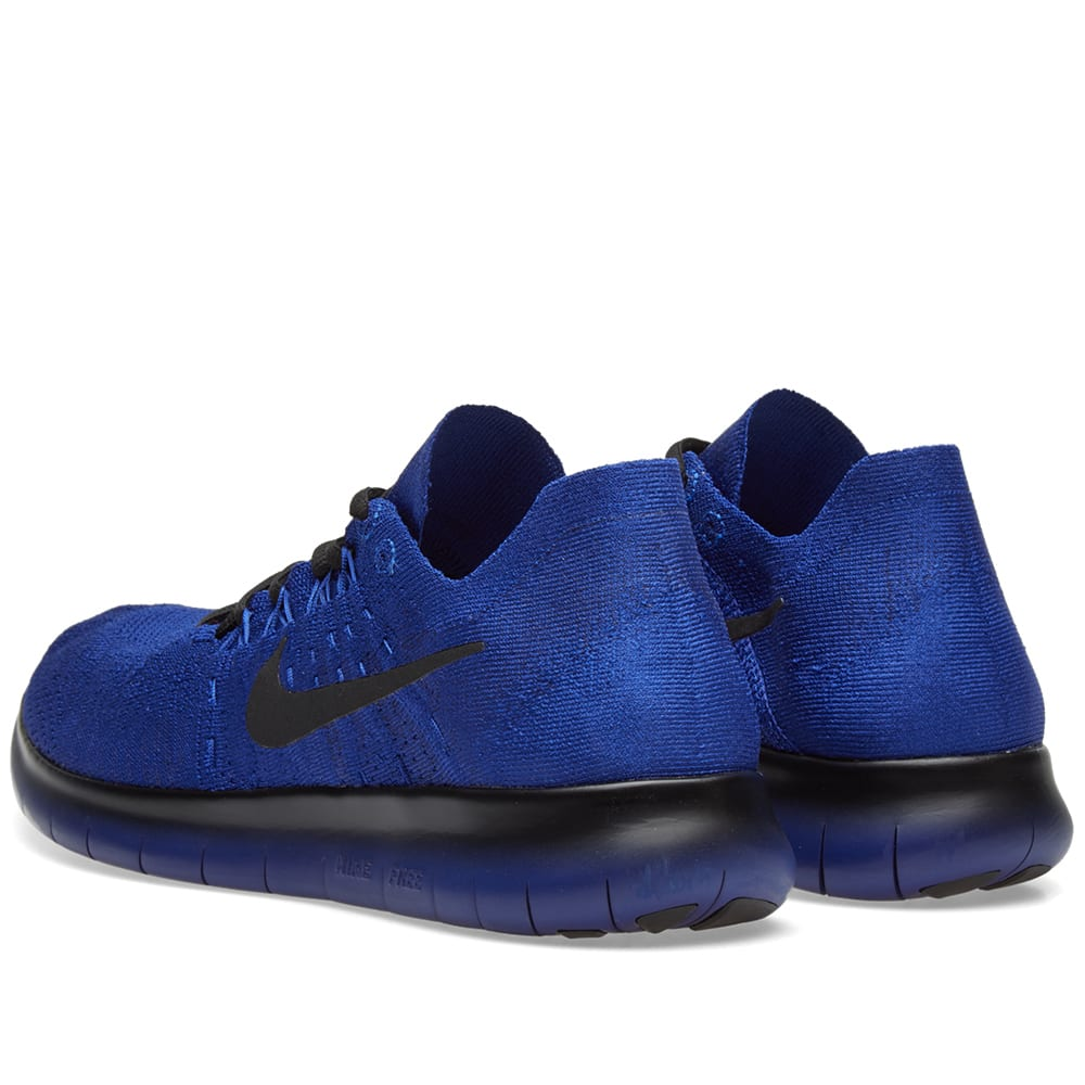 b72a5fcb382bc Nike x Undercover Gyakusou Free RN Flyknit 2017 Deep Royal Blue   Black