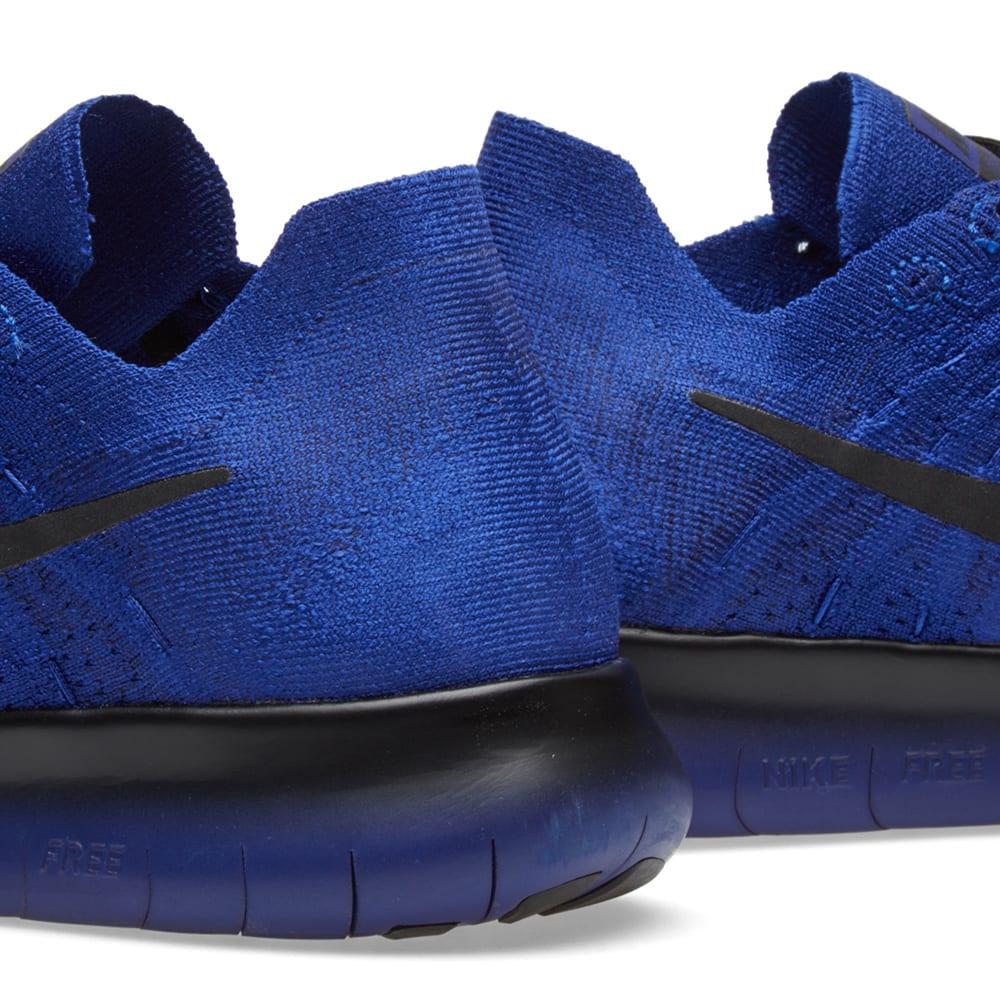 376749462d32 Nike x Undercover Gyakusou Free RN Flyknit 2017 Deep Royal Blue   Black