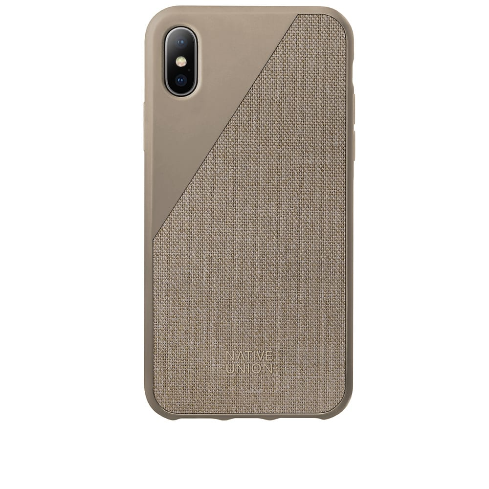 NATIVE UNION CLIC CANVAS IPHONE X CASE