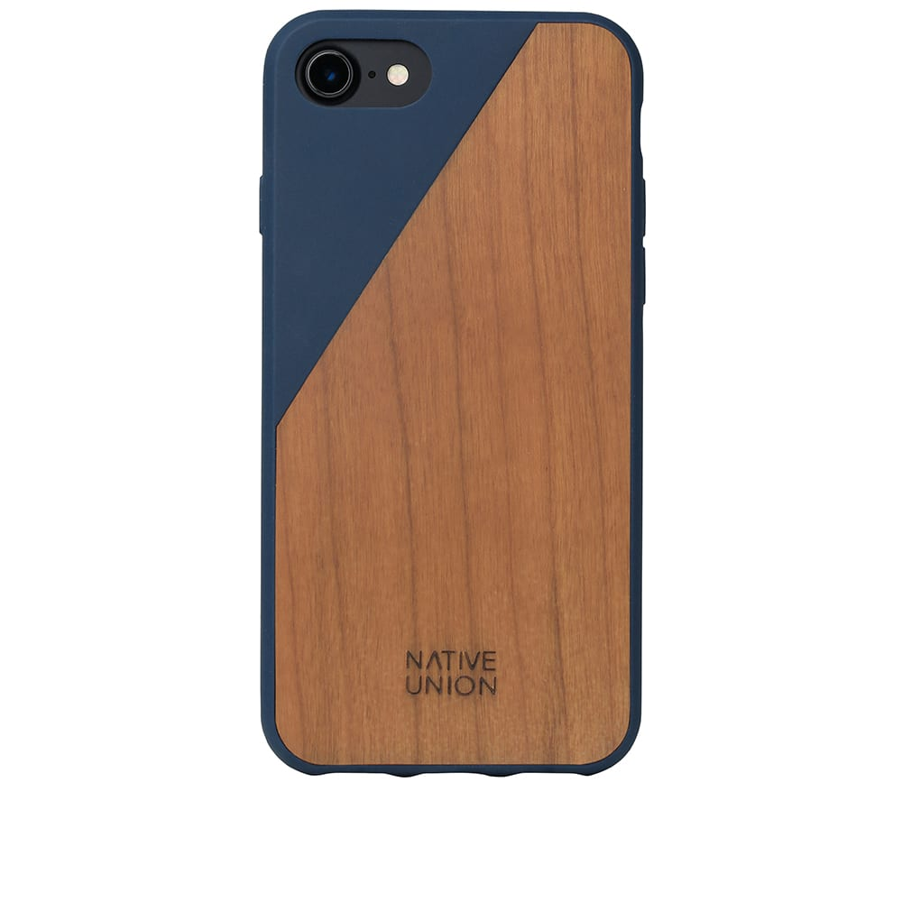 the best attitude c5b32 9a1cd Native Union Wood Edition Clic iPhone 7/8 Case