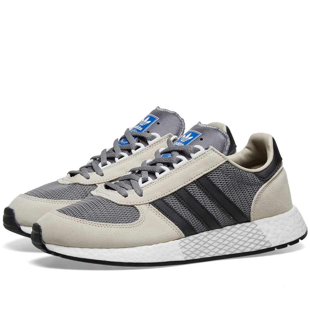 estornudar irregular guión  Adidas Marathon Tech Clear Brown & Black | END.