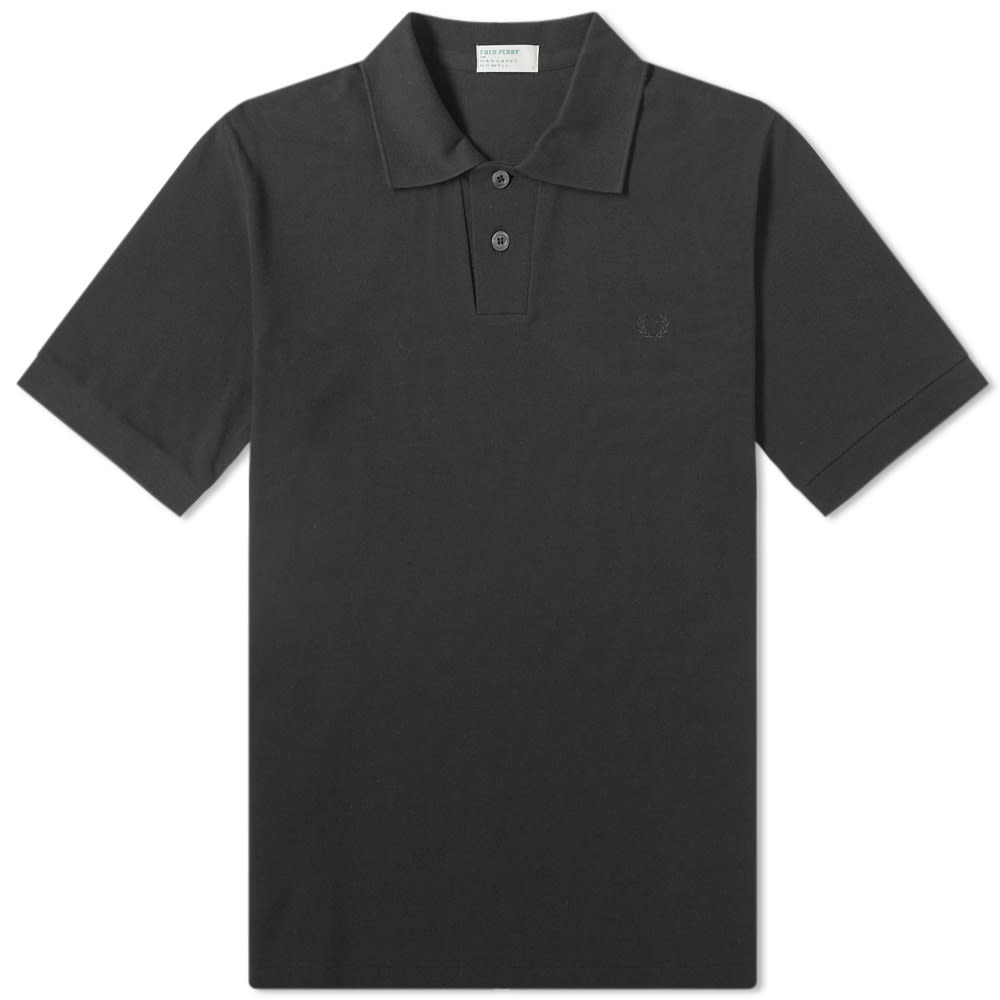 FRED PERRY | Fred Perry X Margaret Howell Pique Polo Black | Goxip