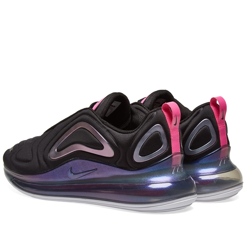 half off 4e2b0 c89e3 Nike Air Max 720 SE W Black, Laser Fuchsia   White   END.