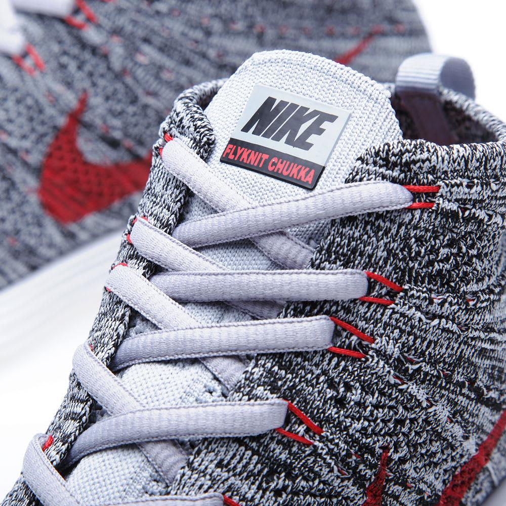 size 40 e2dbf be6fa Nike Lunar Flyknit Chukka Wolf Grey   END.