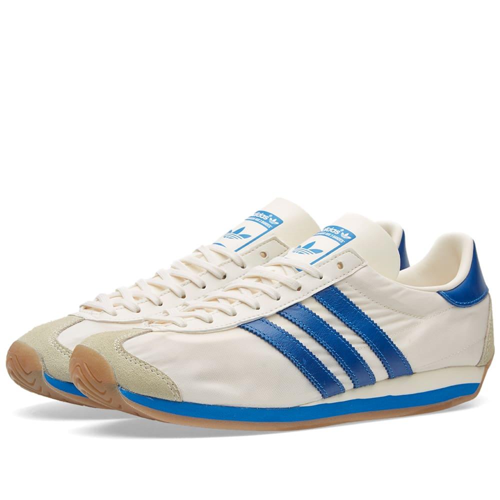 Adidas Country OG Trainers Chalk WhiteBluebird,originals