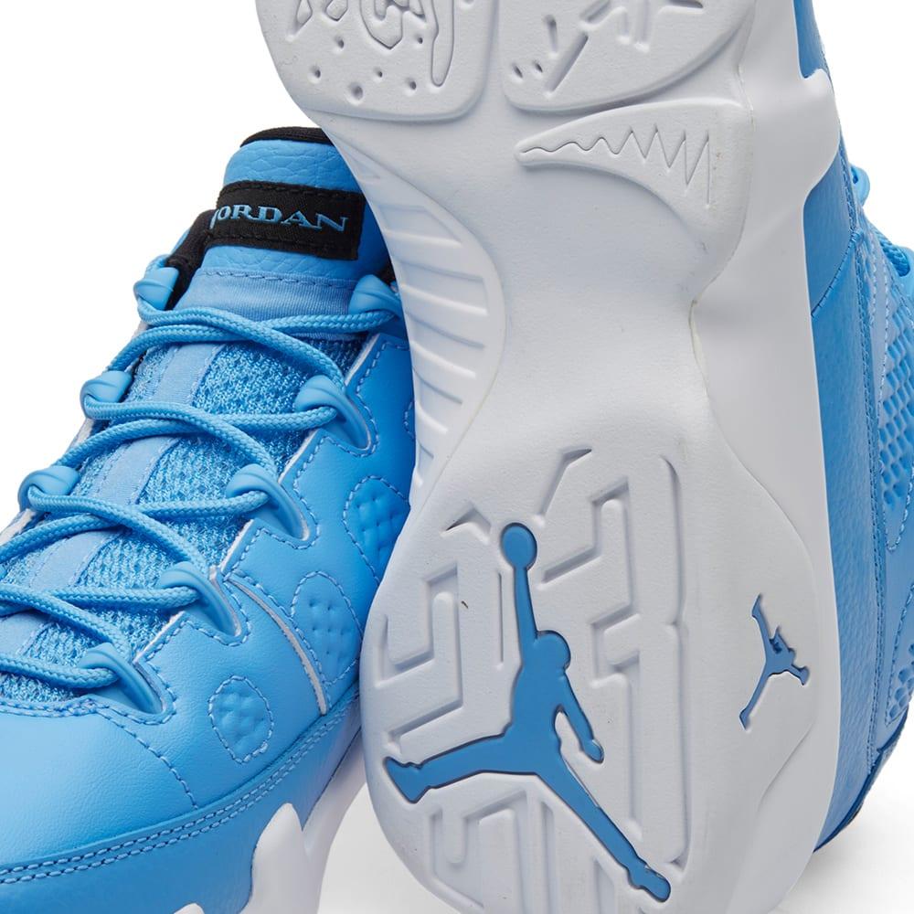 super popular 422b6 ebda0 Nike Air Jordan 9 Retro Low University Blue   White   END.