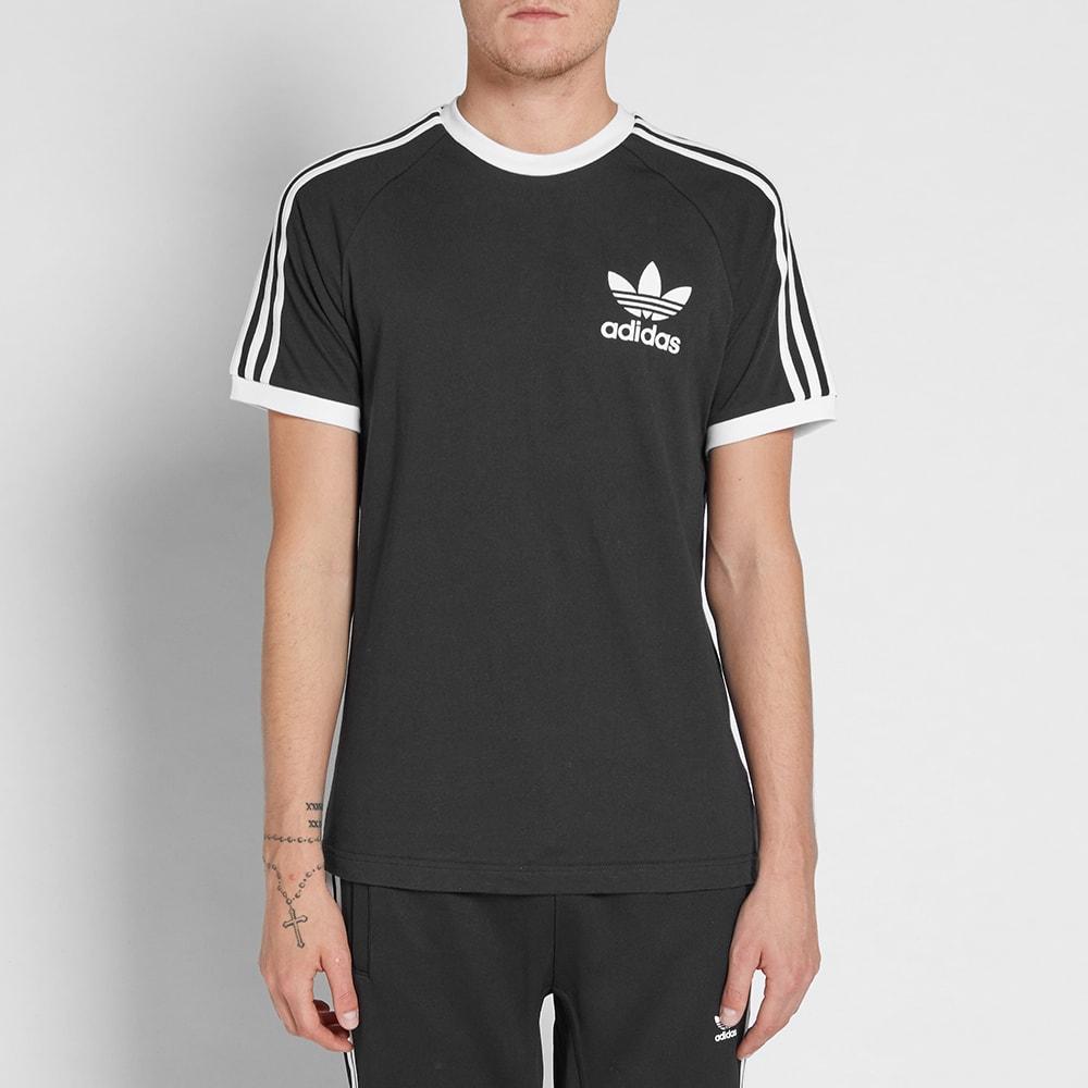 99260a6510ee57 Adidas California Tee Black   White