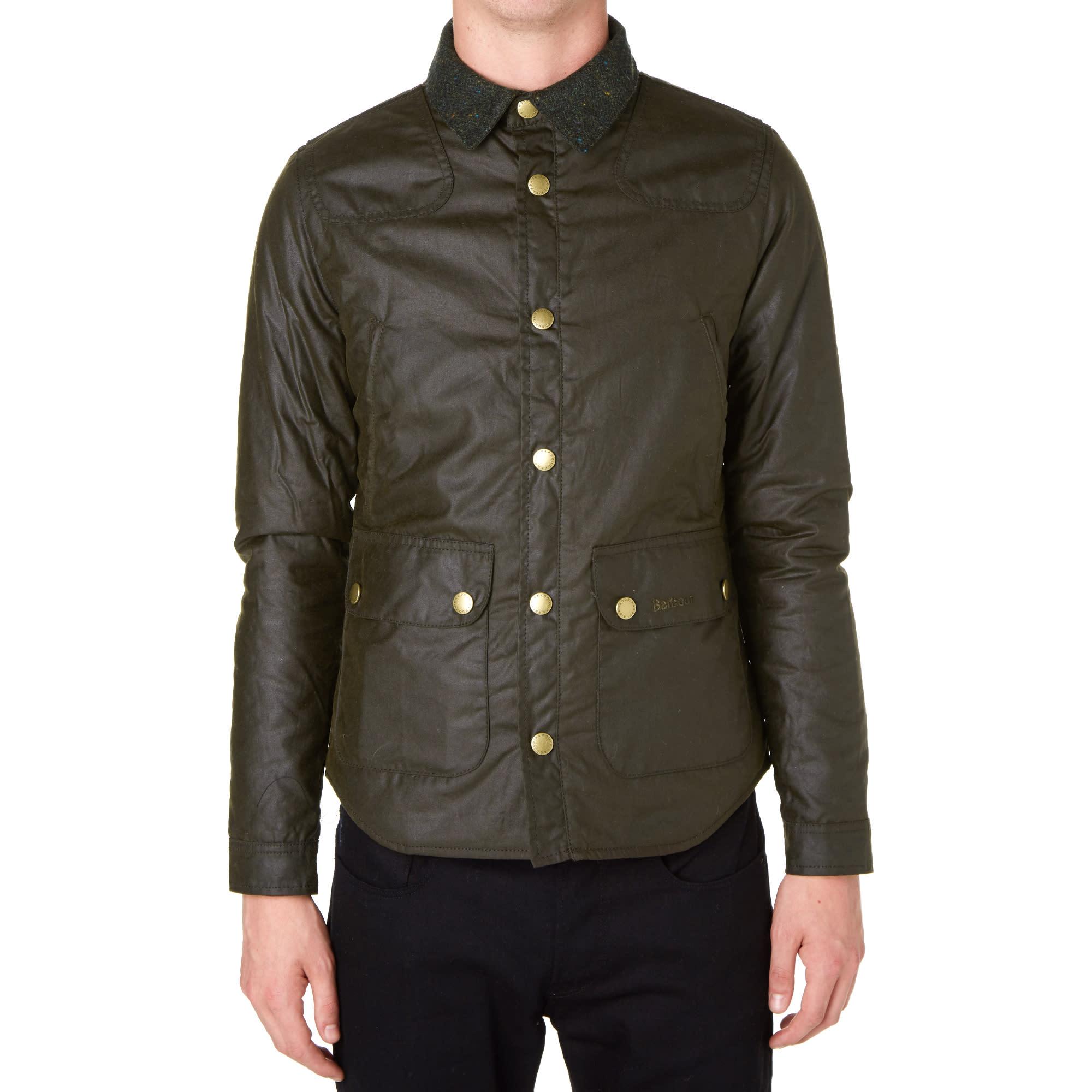 Barbour Reelin Jacket Olive