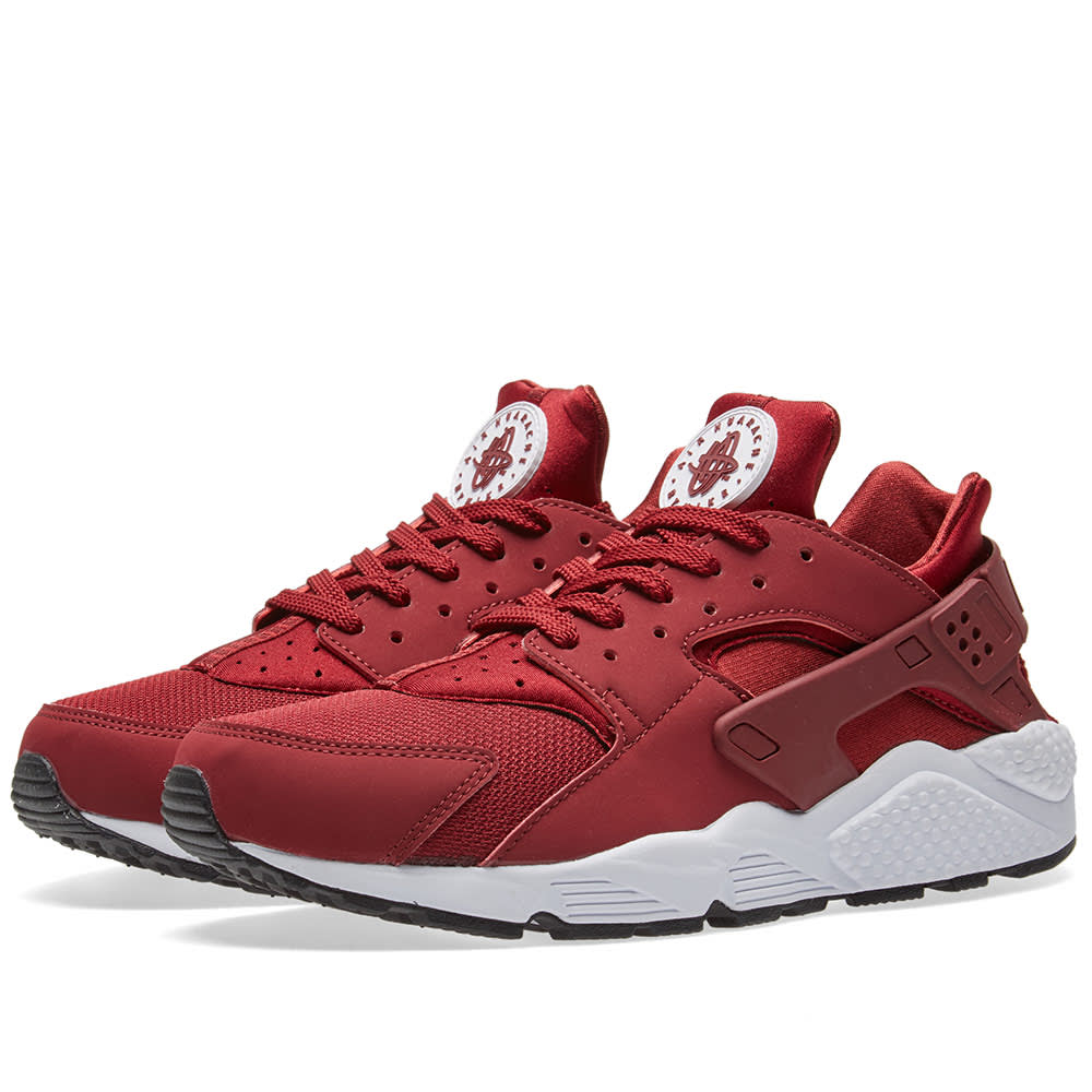 black red and white huaraches