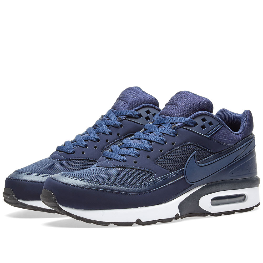 on sale e0872 cb9f2 Nike Air Max BW Midnight Navy, White   Black   END.