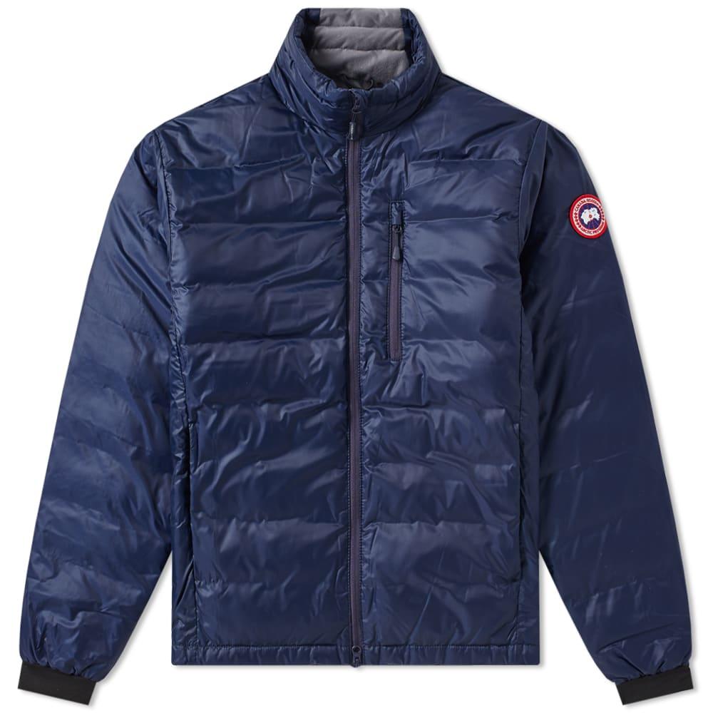 Canada Goose Lodge Jacket Admiral Blue Amp Black End
