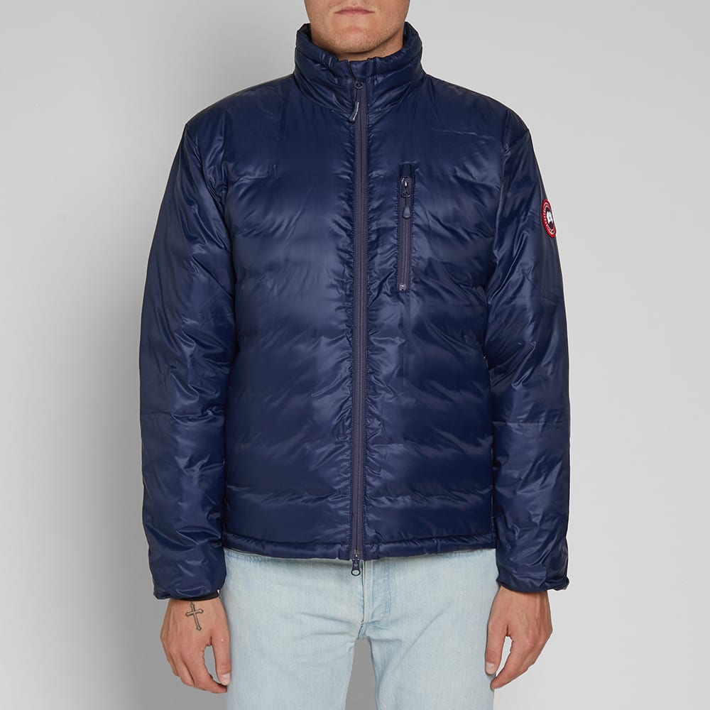 Canada Goose Lodge Jacket Admiral BlueBlack