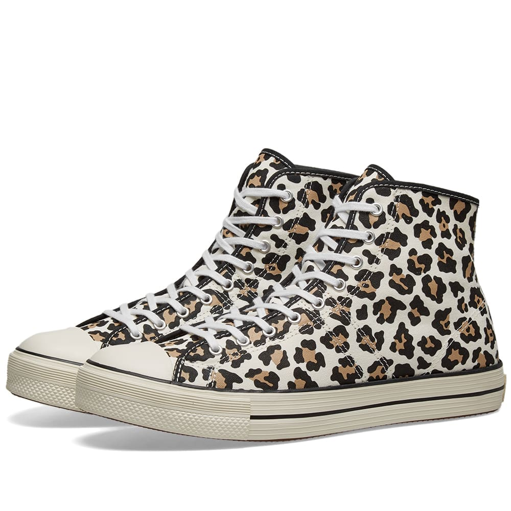 Converse Lucky Star Cheetah Print