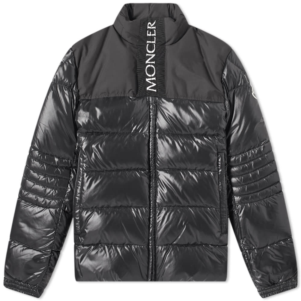 Moncler Bruel Logo Placket Down Jacket