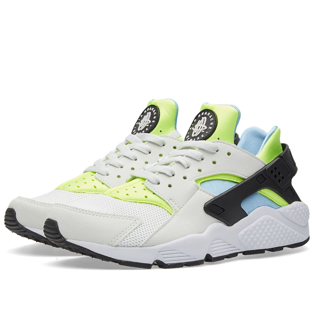f88d077098155 Nike Air Huarache Off White   Barely Volt