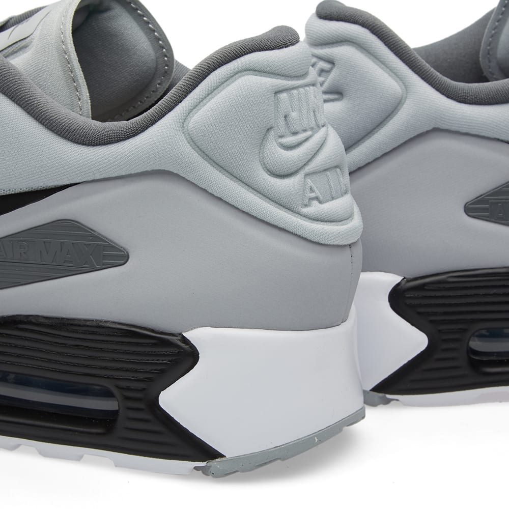 UK Sale Men's Nike Air Max 90 Ultra SE Running Shoes Wolf
