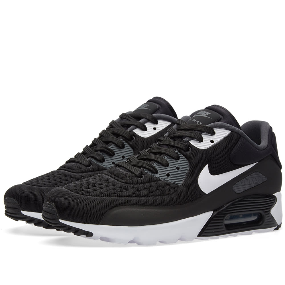 separation shoes ee199 67ba0 Nike Air Max 90 Ultra SE Black, White   Anthracite   END.