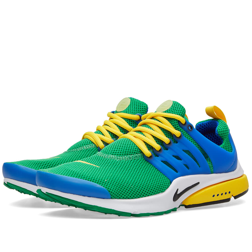 9474364b665 Nike Air Presto Essential Lucky Green   Hyper Cobalt