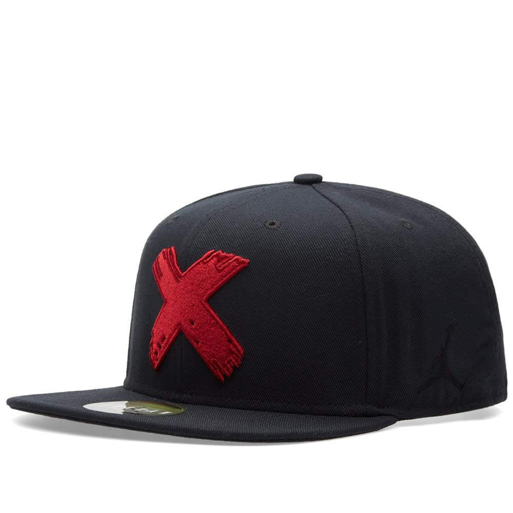 14df34f3f064b6 Nike Jordan Premium SB 3.0  Banned  Cap Black   Gym Red