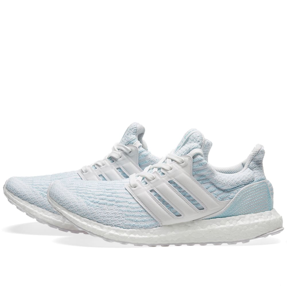8cc9bb216 Adidas Ultra Boost Parley White   Icey Blue