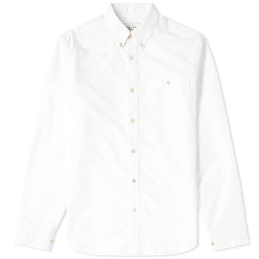A KIND OF GUISE BUTTON DOWN OXFORD SHIRT
