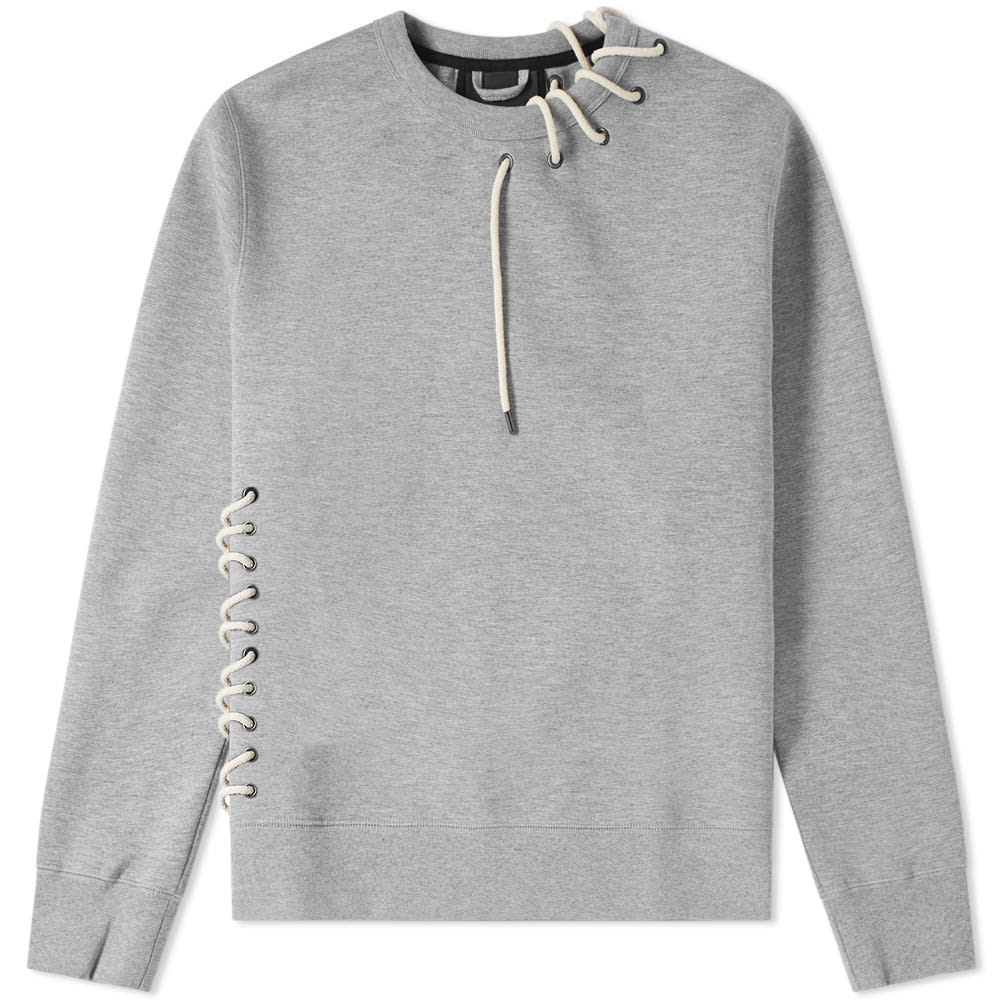CRAIG GREEN LACED SWEATSHIRT