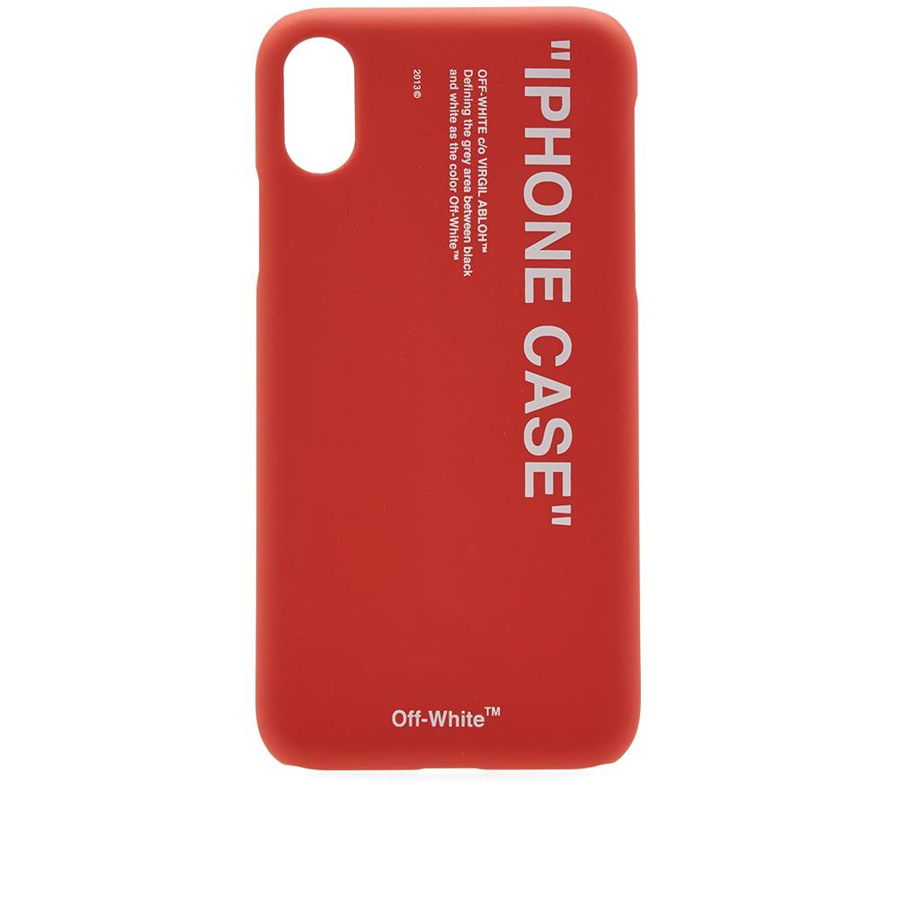brand new 492d1 7ecc9 Off-White Quote iPhone X Case