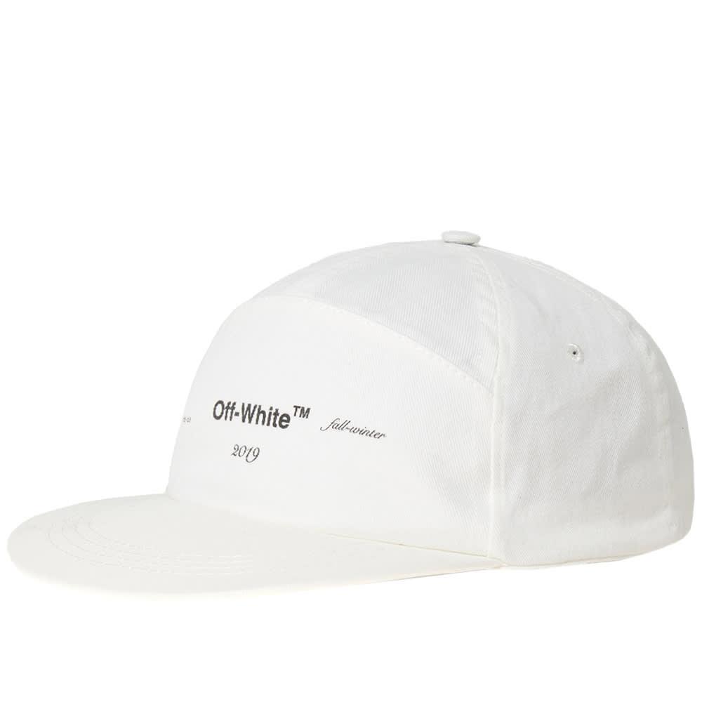 833455feb1614f Off-White Snapback Logo Cap Off White | END.