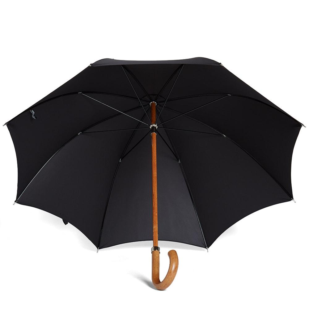 London Undercover City Gent Umbrella (All Black)