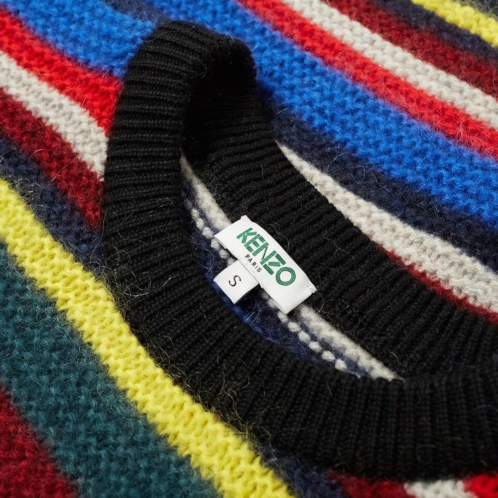9386c6a7 Kenzo Stripe Tiger Crew Knit Multi | END.