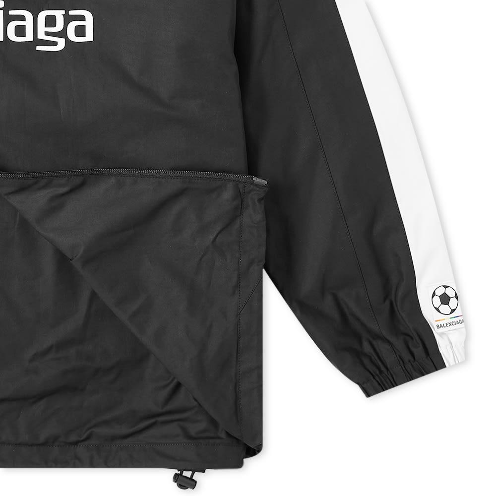 BALENCIAGA Cottons Balenciaga Soccer Zip Up Windbreaker