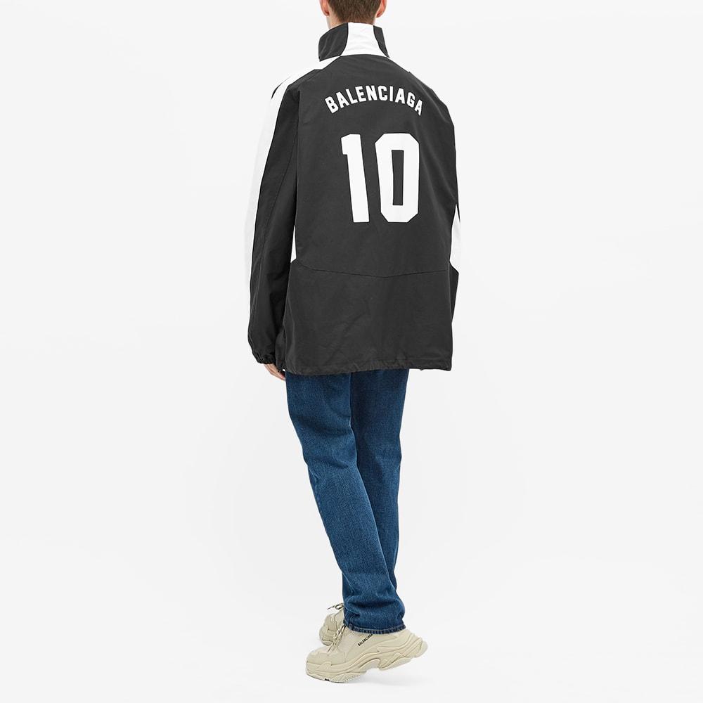 exhaustivo banco Limitado  Balenciaga Soccer Zip Up Windbreaker Black | END.