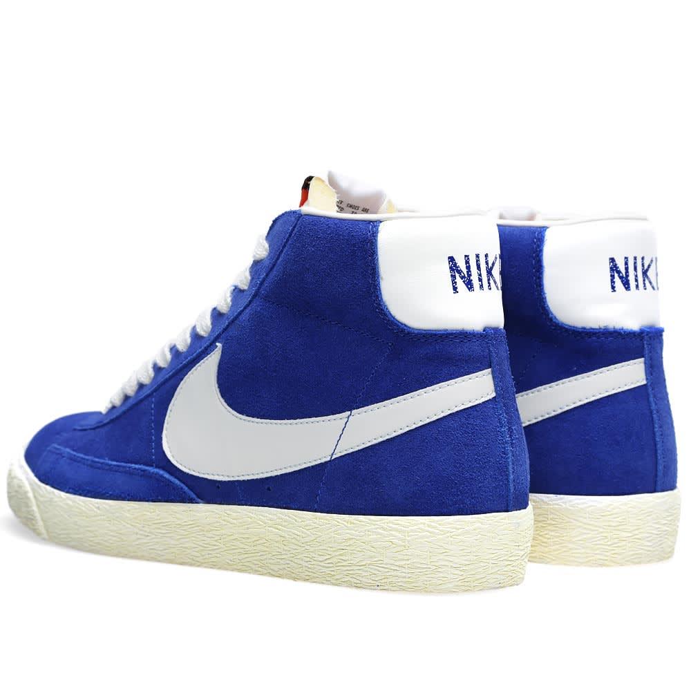 on sale 7013e 3871d Nike Blazer High Vintage Suede