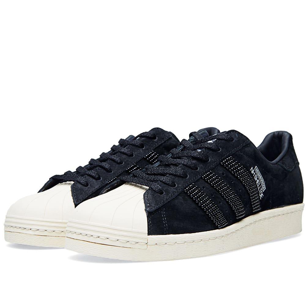 Adidas x Neighborhood NH Shelltoe Black
