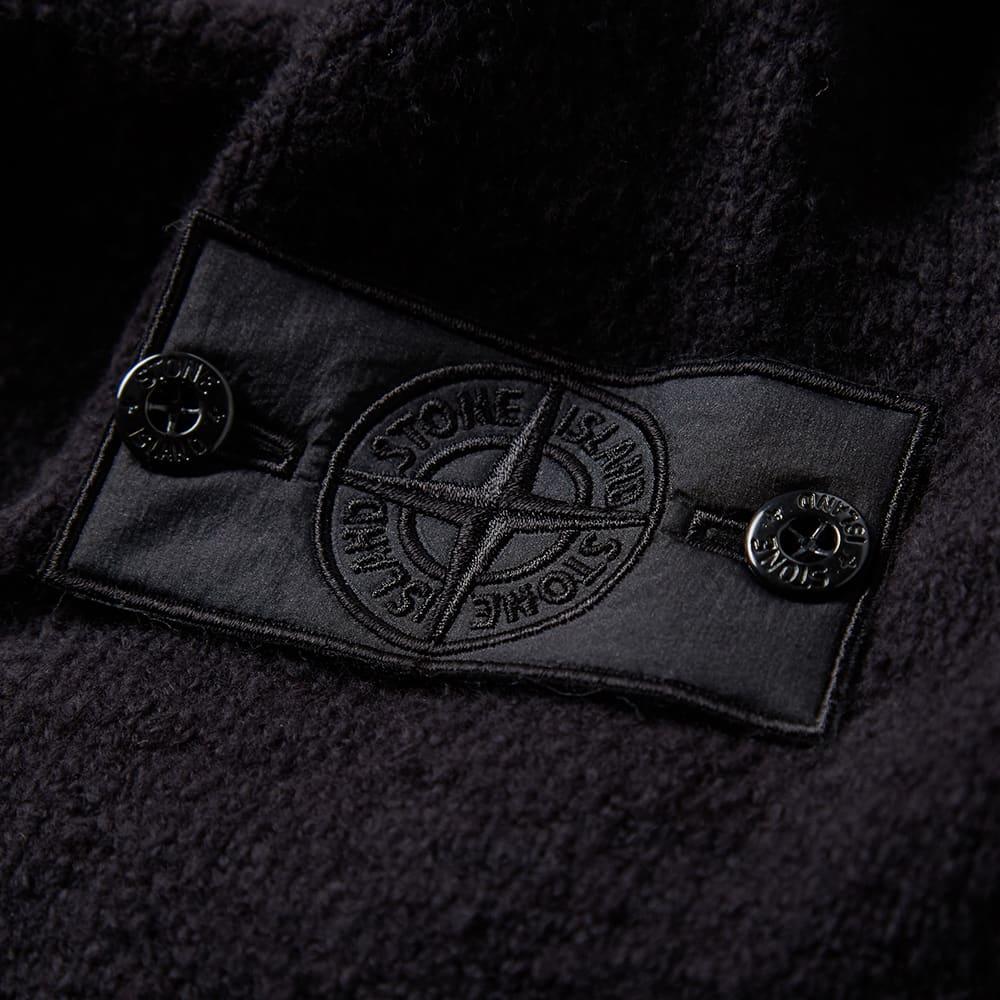 Stone Island Shadow Project Winter Cotton Intarsia Hooded Jacket ...